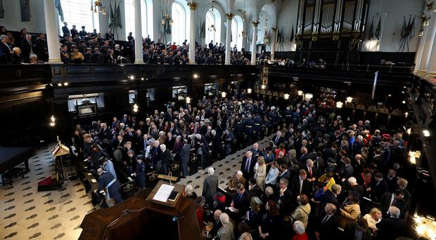 A general view of the Founders' Day Service (Steven Paston/PA)