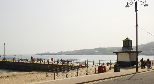 File picture of the pier at Swanage (Chris Ison/PA)