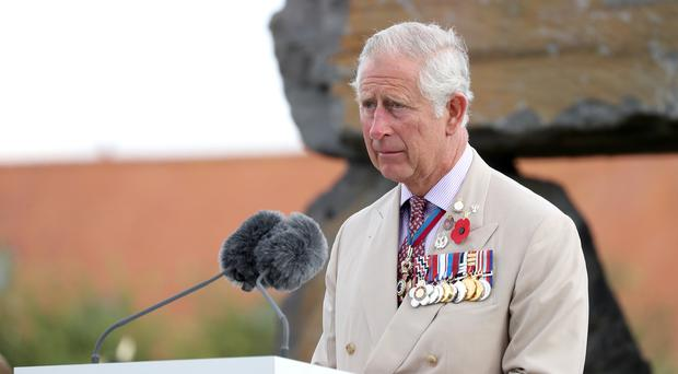 The Prince of Wales will travel to France later this month for the commemorations (Chris Jackson/PA)