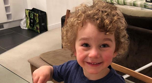 Three-year-old Hector Kirkham who died from meningitis (Family handout/PA)