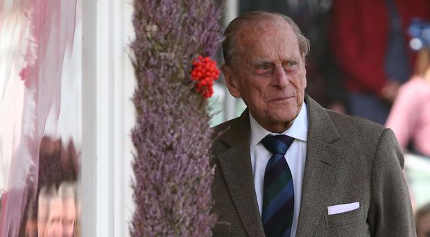 The Duke of Edinburgh has been admitted to hospital for a planned operation on his hip (PA)