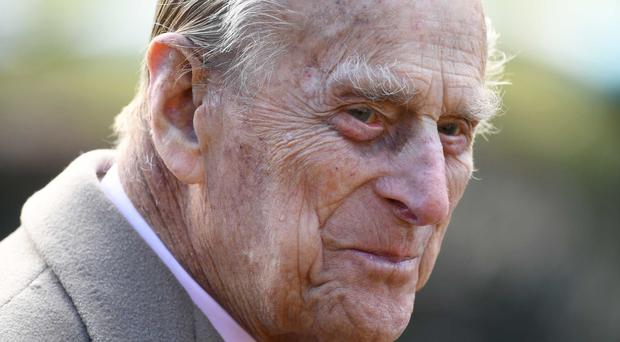 The Duke of Edinburgh has been admitted to hospital for an operation on his hip. (Joe Giddens/PA)