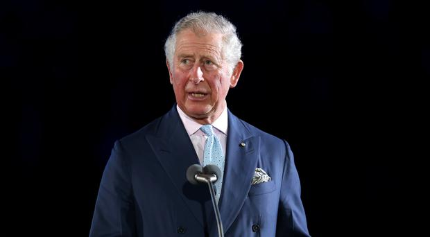 The Prince of Wales during the Opening Ceremony (Danny Lawson/PA)