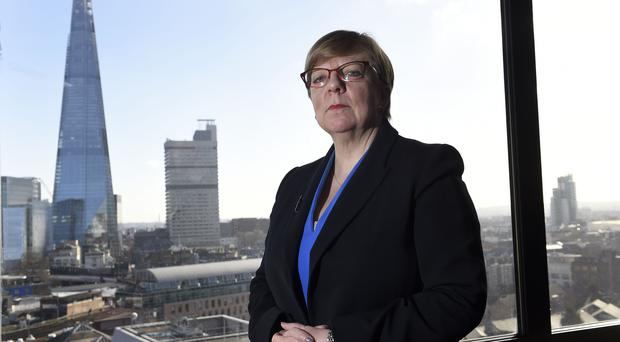 Alison Saunders will stand down in October (Andrew Matthews/PA)