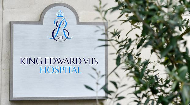 The Duke of Edinburgh had his procedure at the private King Edward VII hospital in Marylebone (Dominic Lipinski/PA)
