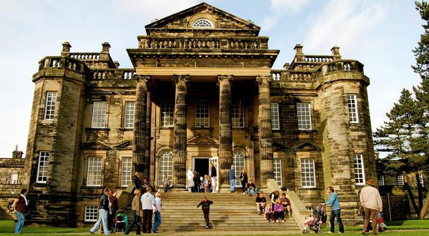 Seaton Delaval Hall in Northumberland was the scene of elaborate pranks (Phil Lindsay/National Trust/PA)