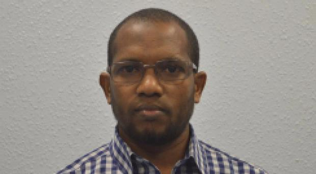 Aweys Shikhey discussed attacks on the Queen and Tottenham Hotspur fans (Metropolitan Police/PA)