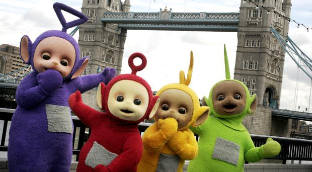 Simon Barnes played Tinky Winky in the children's television show Teletubbies (PA)