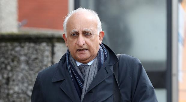 Ajaz Karim is accused of nine charges of indecent assault and one attempted indecent assault against six female pupils at Christ's Hospital School (Gareth Fuller/PA)