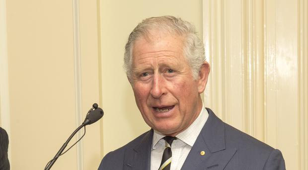 The Prince of Wales speaks during a reception hosted by the Governor of Queensland (Arthur Edwards/The Sun/PA)