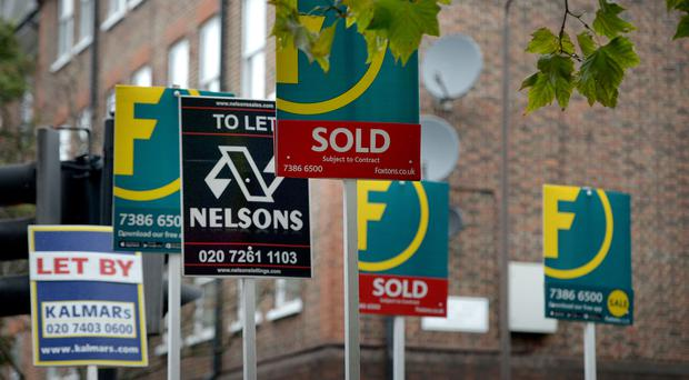 Estate agents to be required to hold a qualification (Anthony Devlin/PA)
