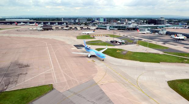 Manchester Airport, where taxi driver William Brent Taylor died following reports of an assault in the car park of Terminal 2 (Martin Rickett/PA)