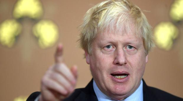 Boris Johnson condemned the alleged chemical attack in Syria (Victoria Jones/PA)