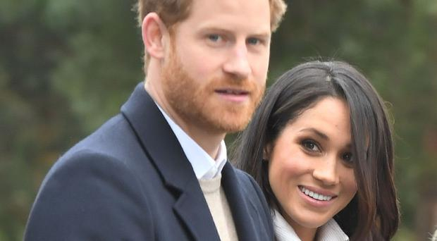 Prince Harry and Meghan Markle have asked for donations to charitable organisations rather than wedding gifts. (Victoria Jones/PA)
