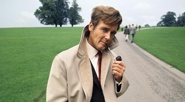 Sir Roger Moore was famous for his expressive eyebrows (Time Inc UK/TV Times/PA)