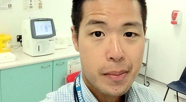 Luke Ong, 31, who has lived in the UK for the past 10 years whilst training to be a GP and is now at risk of deportation (Family handout/PA)