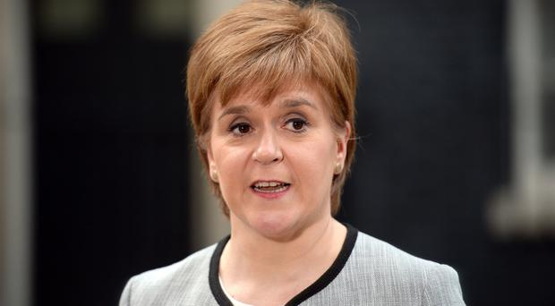 Ms Sturgeon had a 'constructive discussion' with Chinese vice premier Hu Chunhua (Kirsty O'Connor/PA)