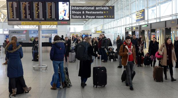 Stansted is the UK's fourth busiest airport (Joe Giddens/PA)
