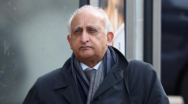 Ajaz Karim at Brighton Crown Court (Gareth Fuller/PA)