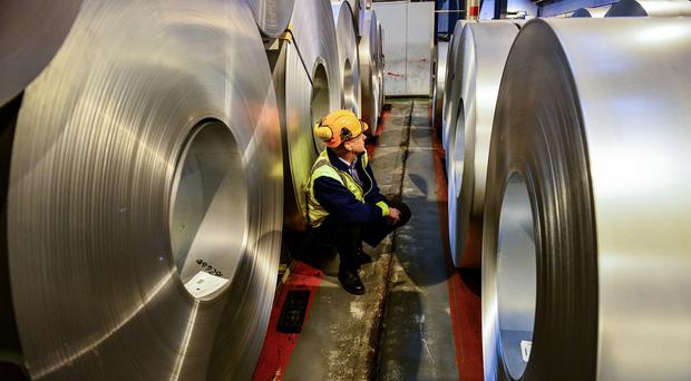 United Kingdom manufacturing output shrinks more than expected