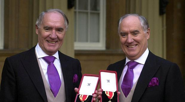 Shop Direct owners Sir David Barclay (left) and his twin brother Sir Frederick (PA)