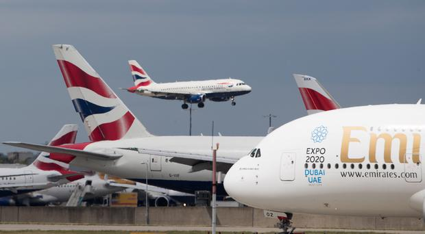 Flights to Cyprus are due to operate from airports across the UK (Steve Parsons/PA)