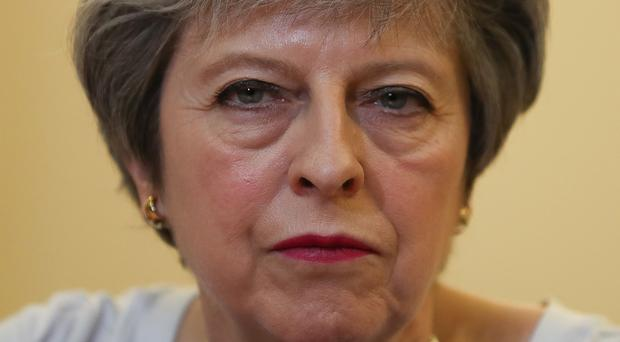 Prime Minister Theresa May agreed the international community