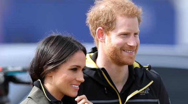The US ambassador has given his best wishes to Prince Harry and Meghan Markle ahead of their wedding (Andrew Matthews/PA)