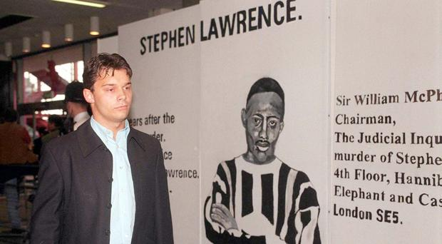 Luke Knight is one of the five men suspected of killing Stephen Lawrence (Treacy, Hallam,Williams,Curtis/PA)