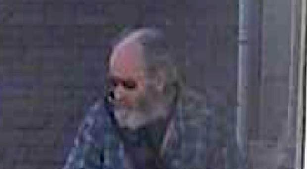CCTV footage of Alan Jeal in Wadebridge on the day before he was found dead on Perranporth beach (Devon and Cornwall Police/PA)