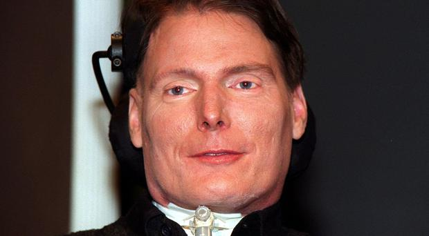 Superman actor Christopher Reeve (Michael Stephens/PA)
