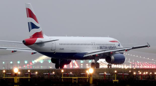 British Airways is mulling a bid for Norwegian (Gareth Fuller/PA)