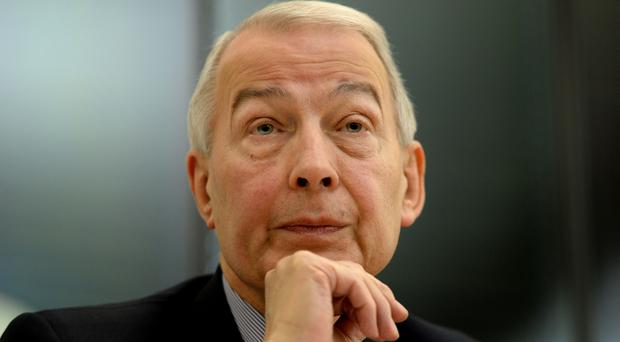 Work and Pensions select committee chairman Frank Field (Anthony Devlin/PA)