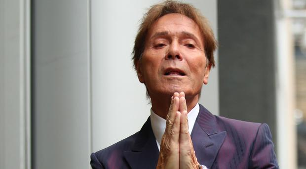 Sir Cliff Richard is suing the BBC (Yui Mok/PA)