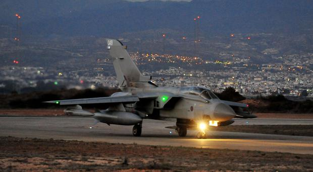 RAF Tornado GR4s could be deployed against Syria (Nick Ansell/PA)