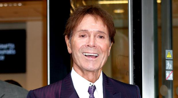 Sir Cliff Richard arrived at the High Court over his case against the BBC