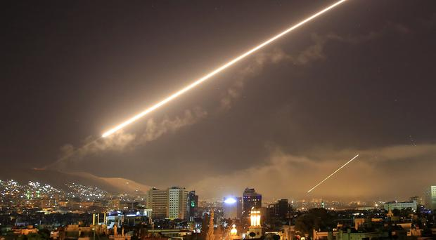 The US launches an attack on Syria (Hassan Ammar/AP)
