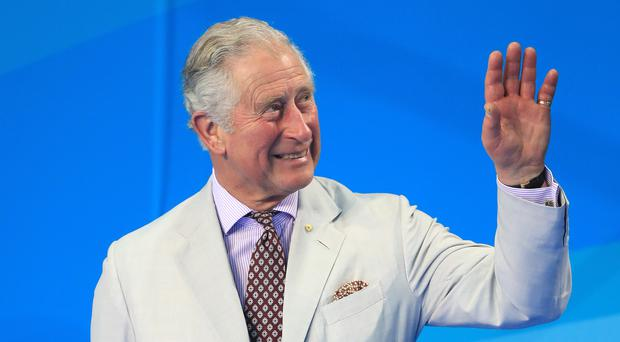 The Prince of Wales at the Commonwealth Games (Danny Lawson/PA)