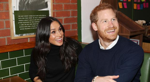 More official souvenirs marking Prince Harry and Meghan Markle have been added to the Royal Collection range (Owen Humphreys/PA)