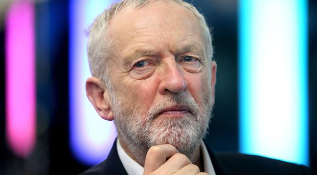 Jeremy Corbyn has praised the bravery of MPs who spoke out on anti-Semitism (Jane Barlow/PA)
