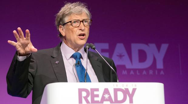 Bill Gates warned that the fight against malaria could 'go backwards' without innovation and long-term funding (Malaria No More UK/PA)