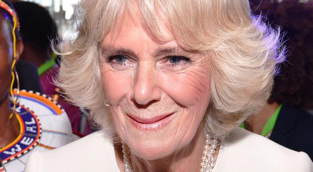 The Duchess of Cornwall addressed the issue of domestic abuse (John Stillwell/PA)