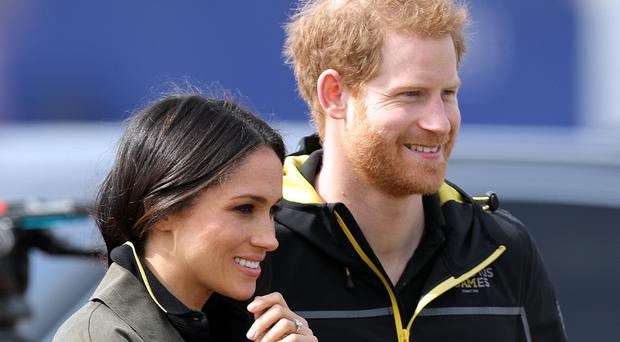 Prince Harry and Meghan Markle previously attended the UK team trials for the Invictus Games in Sydney (Andrew Matthews/PA)