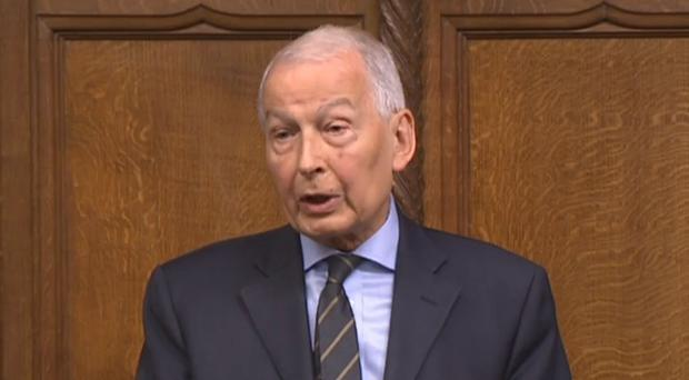Frank Field, chairman of the Work and Pensions select committee (PA)