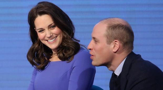 The Duke and Duchess of Cambridge during the first Royal Foundation Forum in central London (Chris Jackson/PA)