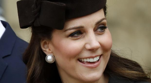 The Duchess of Cambridge has been admitted to St Mary's Hospital in the early stages of labour (Tolga Akmen/PA)