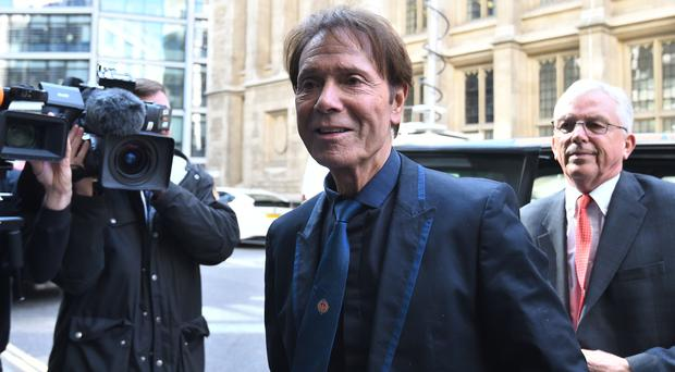 Sir Cliff Richard has sued the BBC (Kirsty O'Connor/PA)