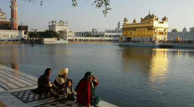The Golden Temple of Amritsar (Chris Ison/PA)