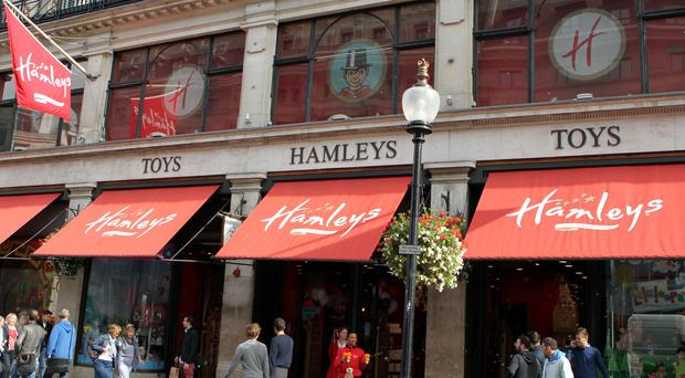 The owner of Hamleys has taken an interest in House of Fraser (PA)