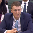 Cambridge adcademic Aleksandr Kogan gives evidence to the parliamentary inquiry into fake news